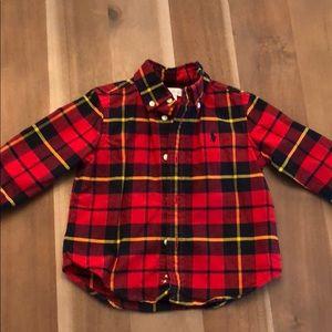 Ralph Lauren button down toddler boys shirt